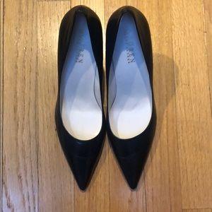 Ralph Lauren Navy high heel pumps